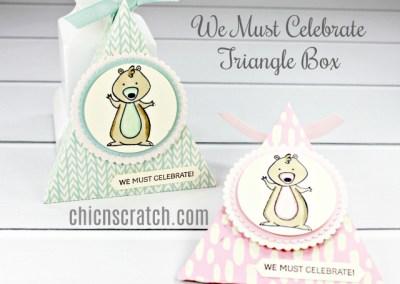 We Must Celebrate Triangle Box