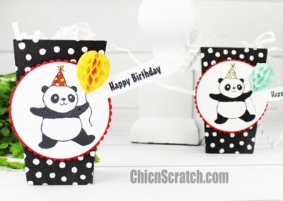 Party Panda's Popcorn Box