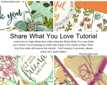 Share What You Love Tutorial