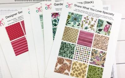 Annual Catalog Designer Series Paper Charts