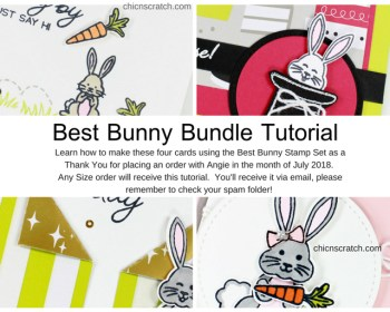 Best Bunny Tutorial – Free with an order!