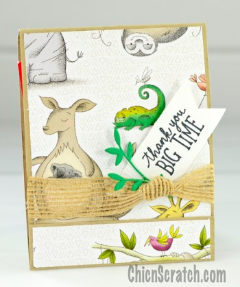 Animal Outing Stamp Kit of the Month #5
