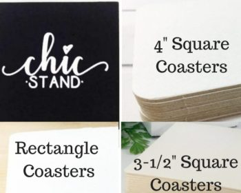 Coasters & Chic Stands
