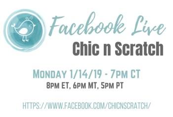 Facebook Live Tonight 7pm