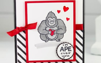 Hey Love Masculine Card