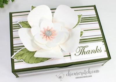 Magnolia Flower Box