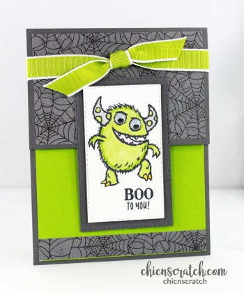 Boo To You Fun Fold Card