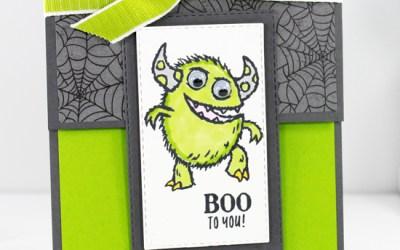 Boo To You Fun Fold Card