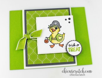 Fun Fold Card with Birds of a Feather