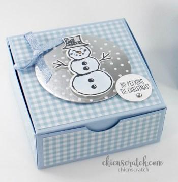 Snowman Season Holiday Box