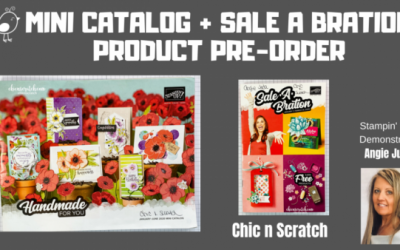 Mini Catalog + Sale a Bration Preorder