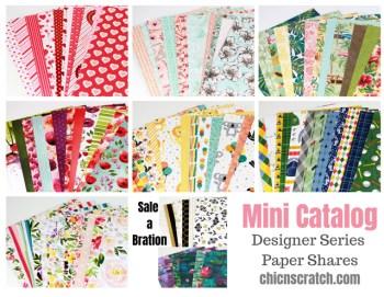 Mini Catalog Designer Series Paper Shares