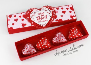 How to Make a Candy Heart Box