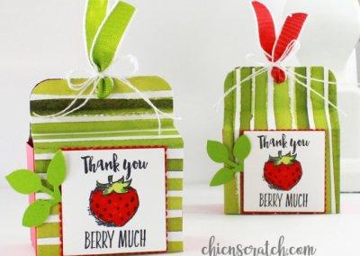 Mini Gift Box with Handle