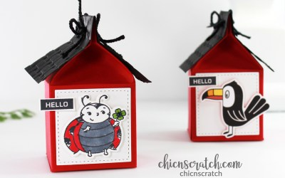 Mini Milk Carton Cottage