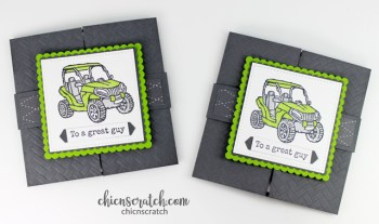 Mini Gatefold Card