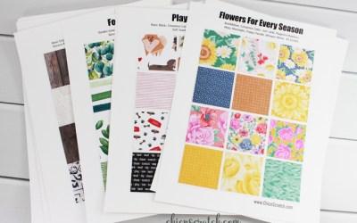 Designer Series Paper Charts 2020