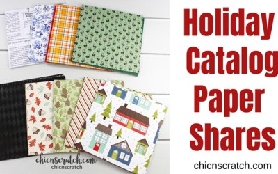 Holiday Catalog Paper Shares