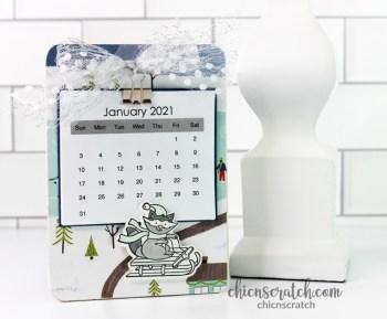 2021 Calendar & Card