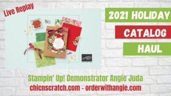 Stampin' Up! Holiday Catalog Haul Video