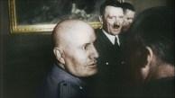Mussoline, encontro com Hitler