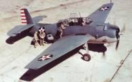 TBF Avenger aeronave em repouso, por volta início de 1942