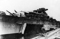 Bismarck armamento em Hamburgo, Alemanha, 10-15 dezembro de 1939, foto 1 de 4