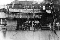 Instalação de torres de 15 polegadas arma para o Bismarck, Hamburgo, Alemanha, 10-15 dezembro 1939