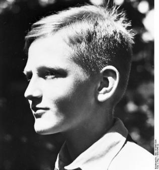 Porträt Hitler-Junge