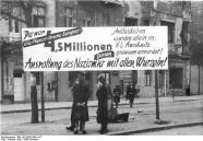 Berlin-Neukölln, Anti-NS-Transparent