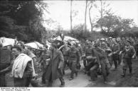 Frankreich, englische Kriegsgefangene