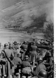 Drontheim, Frontlinie