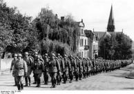 Forbach, Einmarsch Polizeibataillon