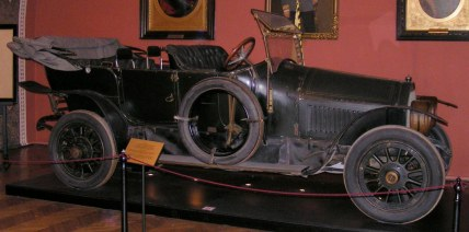 Carro utilizado pelo Arquiduque