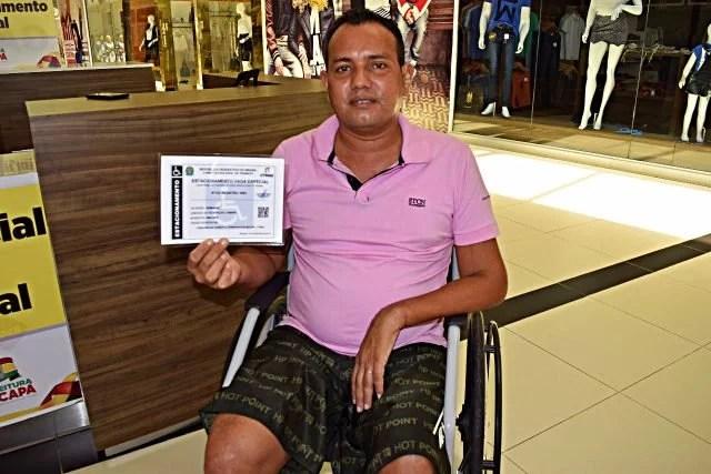 Macapá ganha quiosque para credenciamento de vagas especiais de estacionamento