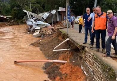 Passa de 3 mil o número de desalojados pelas chuvas no Espírito Santo