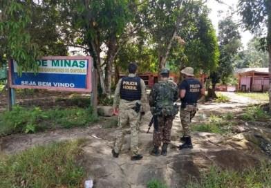 PF, em ação conjunta com o Exército Brasileiro, desarticula  atividade de garimpo ilegal no Amapá