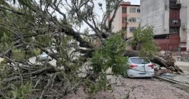 Região Sul entra em alerta devido a risco de tempestades nesta terça