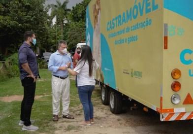 """""""Castramóvel"""" começa atendimento gratuito em agosto para castração de cães e gatos"""