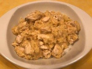 Receta de pollo con manzana