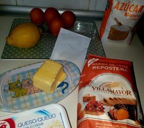 Bizcocho de limón y queso