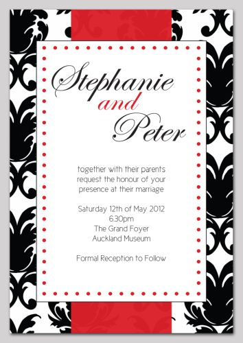 The Chic Party Boutique Wedding Invitations Shire Range