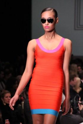 Fashion Houston - Bold Color Orange BCBG