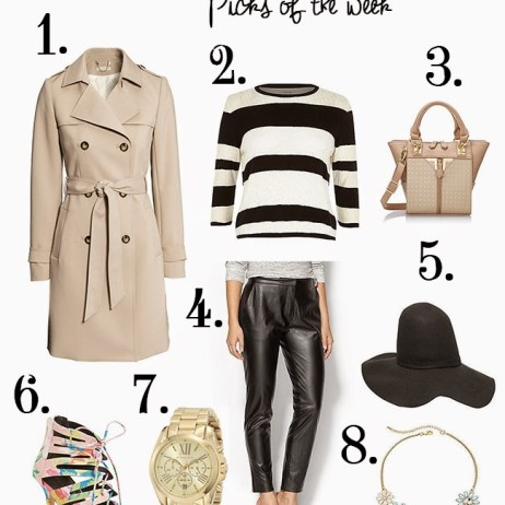 SHOPPING PICKS OF THE WEEK: TRENCH COAT MOMENT