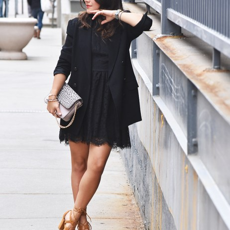THE LITTLE LACE BLACK DRESS