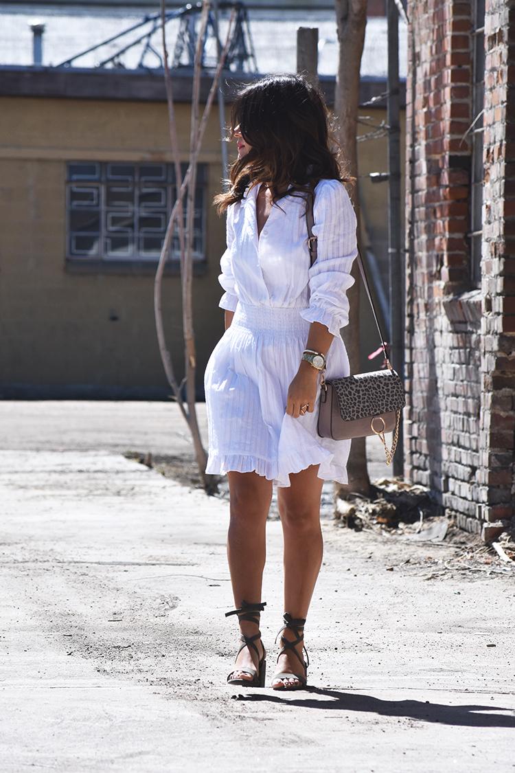 Chicwish white dress