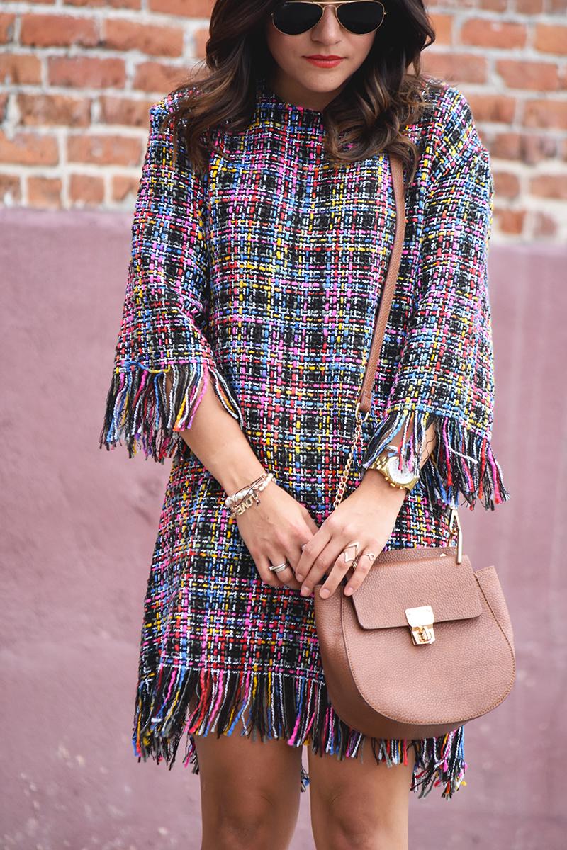 SheIn Tassel dress