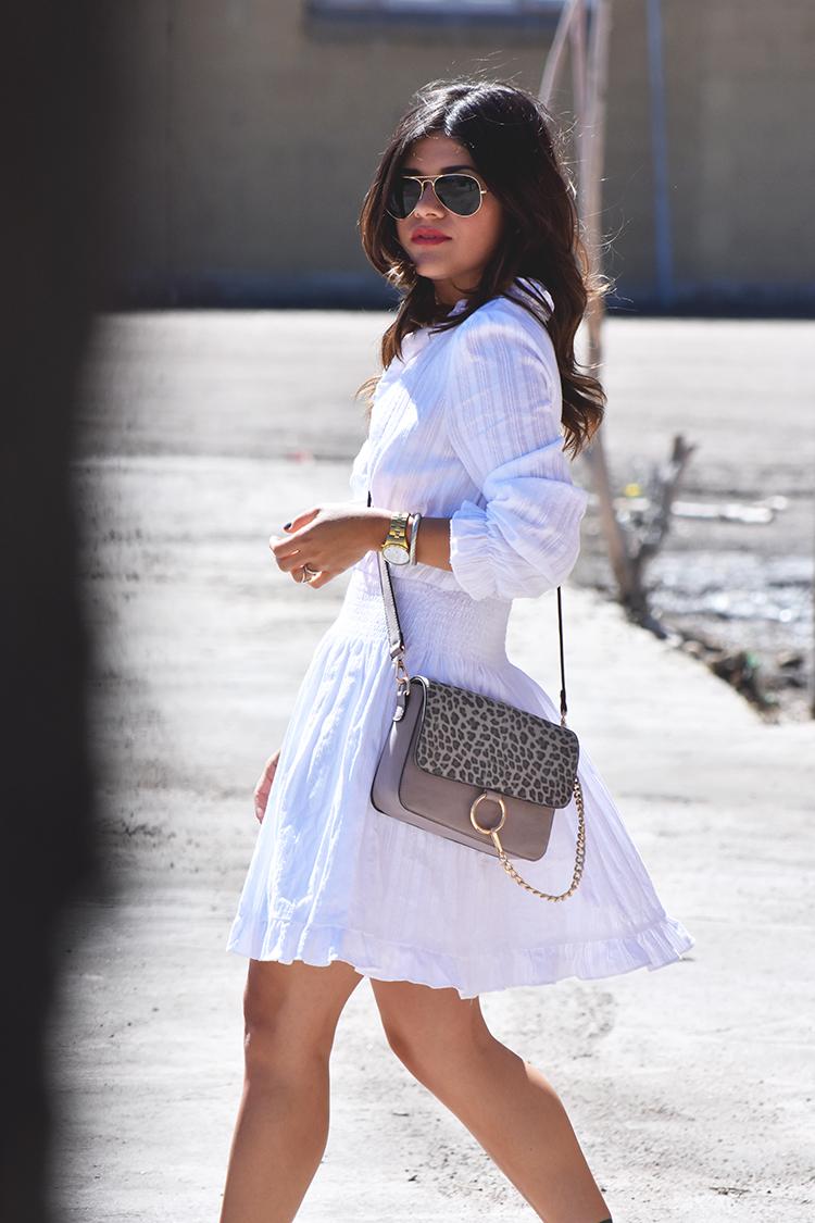 ootd- chicwish white dress