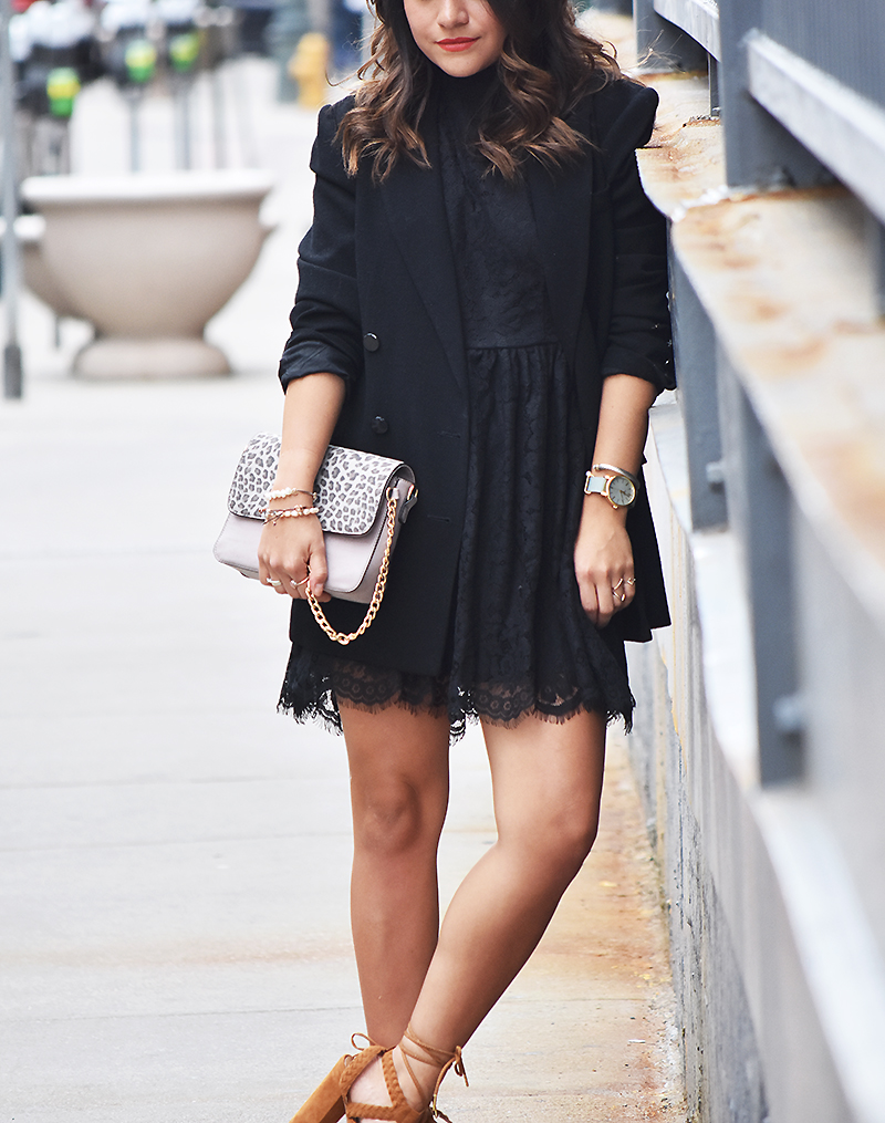 ootd- little black dress