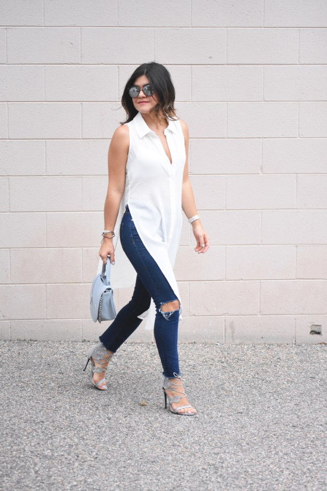 Madewell ripped jeans